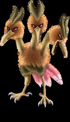Pokemon: Dodrio by Diiri