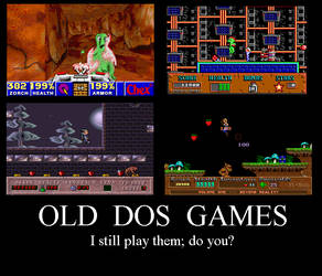 Old DOS Games by PhoenixManX-XL