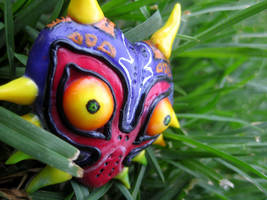 Majora's Mask - Polymer clay by CrazyStalkerLady
