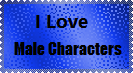 Male Character Stamp by LadyIlona1984