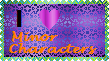 Minor Character Stamp by LadyIlona1984