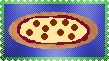 Pizza Stamp by LadyIlona1984