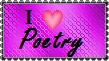 Poetry Stamp by LadyIlona1984