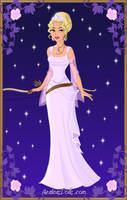The Moon Goddess Diana by LadyIlona1984