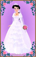 Blushing Bride Melody by LadyIlona1984