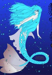 Ice Mermaid by LadyIlona1984