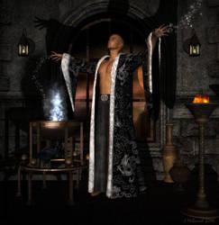 Conjurer by jjean21
