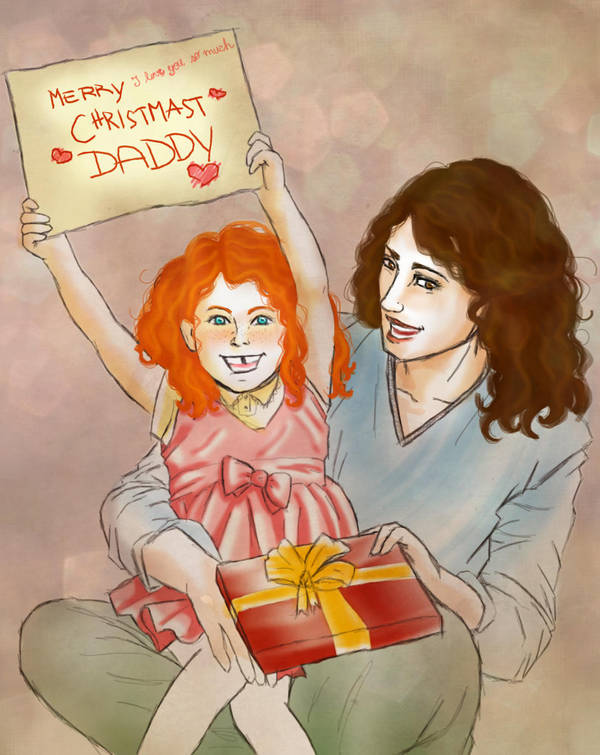 HP - Merry Christmas Daddy by Elwy