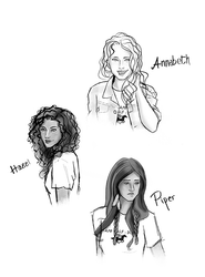 Percy Jackson - The Girls by Elwy