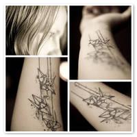 1000 Paper Cranes by KayVee