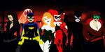 Gotham Girls The Animated Series by bat123spider