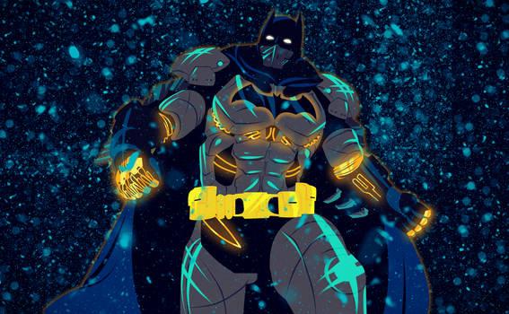 Batman Arkham Origins XE Suit by bat123spider
