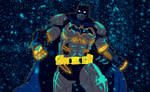 Batman Arkham Origins XE Suit by bat123spider