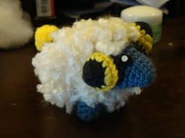 Crochet Mareep by AcrophobicAcrobat