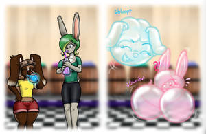 Bubble Bunnies by Stookam