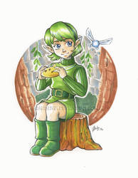 Saria - Sage of Forest by Samayume