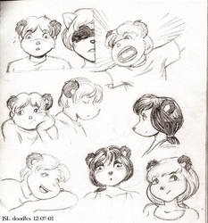 Shanda the Panda full cast head shots part two by SatyQ