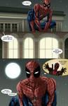 Spideypool Comic 'Never Say Never' Page 1 by jijikero
