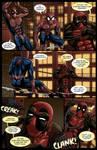 Spideypool Comic 'Never Say Never' Page 3 by jijikero