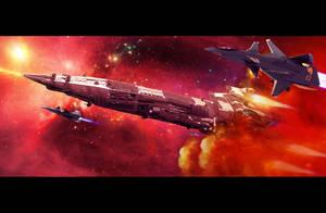 Nebula Hunter by HPashkov