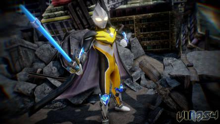 Ultraman Tiga Knight by viaditor954