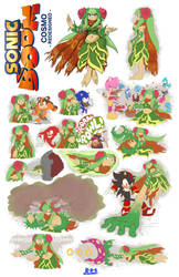 Sonic Boom Character What-ifs - Cosmo by Blue-Paint-Sea