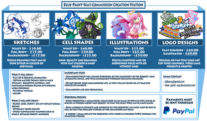 Commission Chart 2.0 by Blue-Paint-Sea