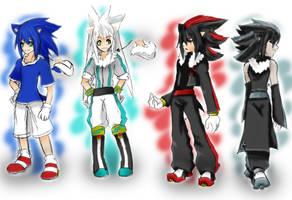 Sonic Cosplay Arts by DeepestSilence