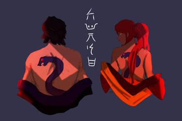 Anacondrai Worshipers by DrawingInterest