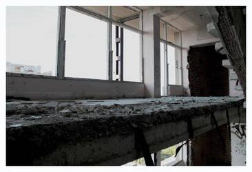 Between floors by marcis