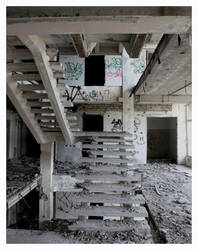 Stairs to next floor by marcis