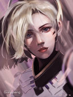 Mercy (from Overwatch) by gunppang