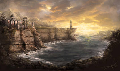 Japanese Fort by lordbaells