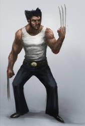 Wolverine Sketch_15 by lordbaells