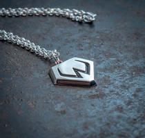 Overwatch Widowmaker silver pendant by KristoLiiva
