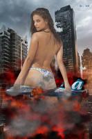 Destructive Barbara by ZituKX