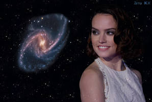 Growing Daisy Ridley 3/5 by ZituKX