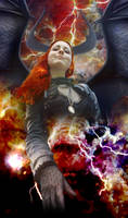 Necklaces of Power 13 -  ArchdemonicGoddess Amarie by ZituKX