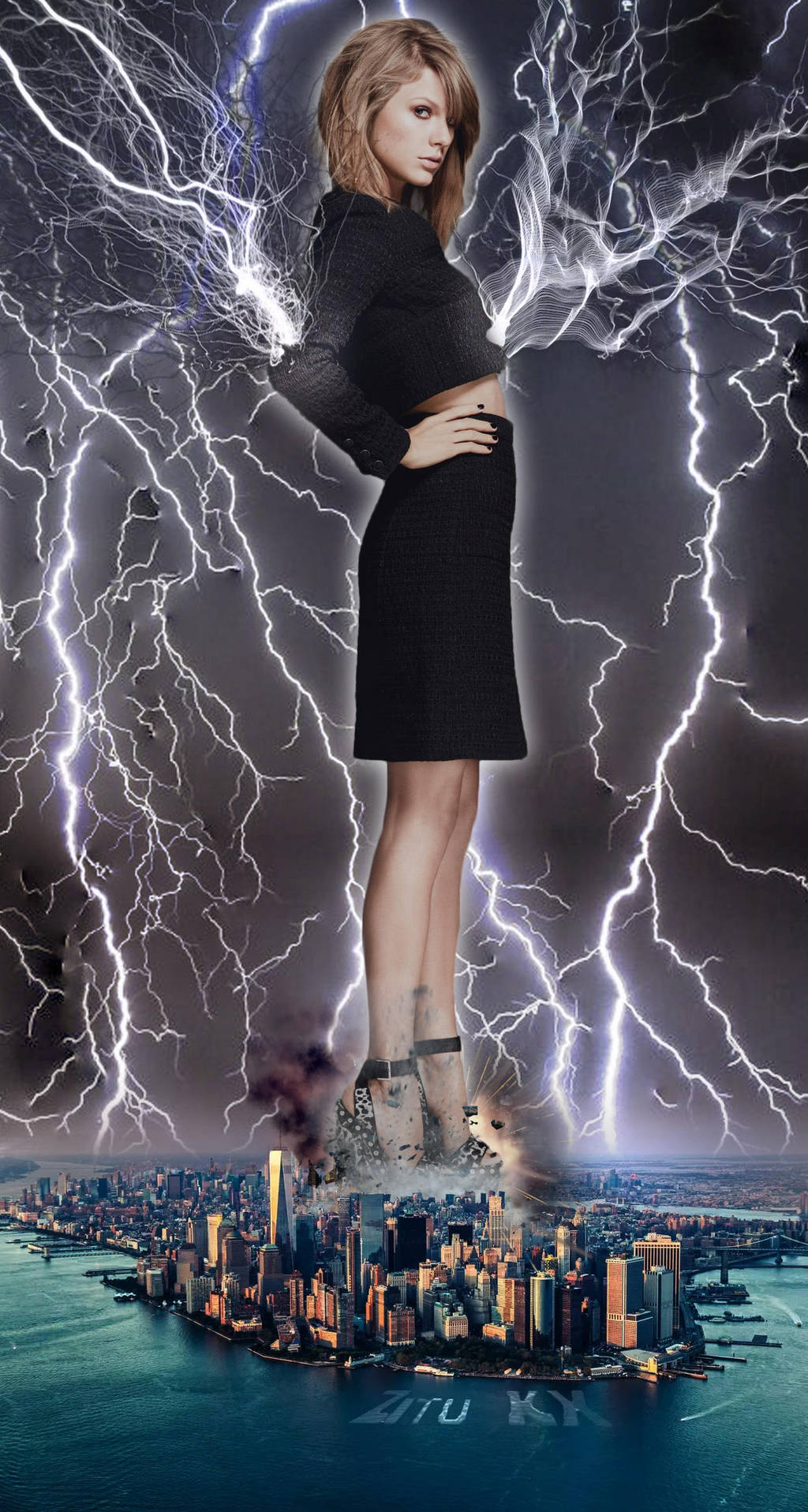 Taylor's Thunders - Absorption of energy by ZituKX
