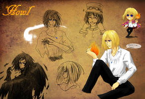 Some know him as Howl Pendragon... by Solstice-11
