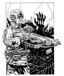 Steampunk Soldier by Noeland