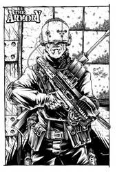 The Armory Visor/Gun Concept by Noeland