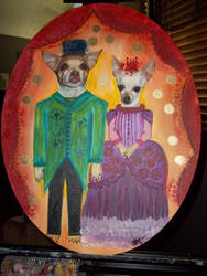 SiR MoJo and LaDy PiCassO by abstractjet