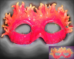 Fire Mask by Leucrota