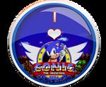 I Love Sonic 1 Badge by darkfailure