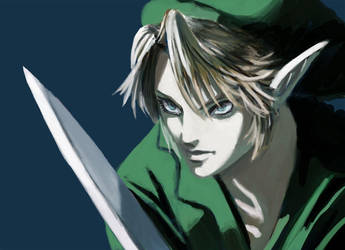 Link- Castlevania Style by JeiWo