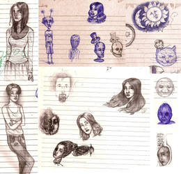 Drawing in class by AniraMvp