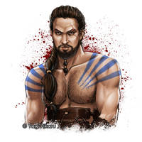 Khal Drogo by yagihikaru
