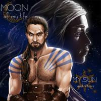 MOON of my life My SUN and stars by yagihikaru