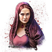 Melisandre / The Red Woman by yagihikaru